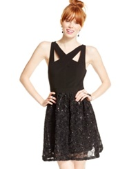 Hailey Logan Ottoman Rosette Party Dress