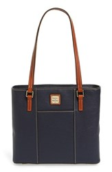 Dooney And Bourke 'Small Lexington Pebble Grain Collection' Water Resistant Leather Shopper Blue Midnight B