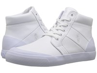 Polo Ralph Lauren Isaak White Smooth Sport Leather Men's Shoes