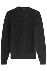 Jil Sander Pullover With Mohair And Wool Black
