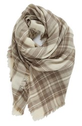 Women's Bp. Plaid Square Scarf