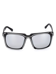Linda Farrow Square Shaped Tinted Sunglasses Black