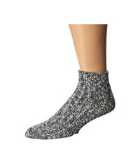 Wigwam Cypress Quarter Single Pack White Black Quarter Length Socks Shoes