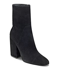 Kendall And Kylie Brooke Block Heel Booties Black