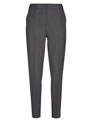 Hobbs Carris Trousers Navy Ivory