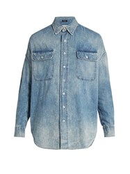 R 13 X Oversized Denim Shirt