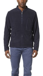 Garbstore Front Runner Warm Up Jacket Navy
