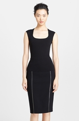 Michael Kors Cap Sleeve Cashmere Top Black