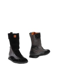 Boss Orange Boots Black