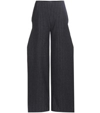 Jacquemus Wool Blend Trousers Grey