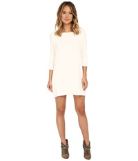 Culture Phit Gigi Pocketed Dress Ivory Women's Dress White