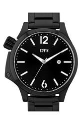 Men's Edwin 'Brook' Bracelet Watch 43Mm