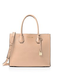 Michael Michael Kors Large Mercer Convertible Tote Oyster
