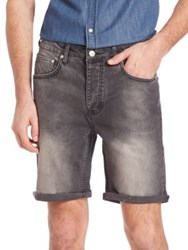 Wesc Conway Five Pocket Jean Shorts Moonstone