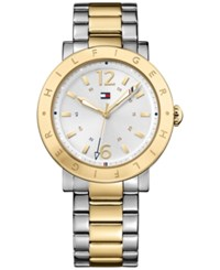 Tommy Hilfiger Men's Table Two Tone Stainless Steel Bracelet Watch 44Mm 1781620