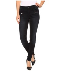 Kut From The Kloth Moto Skinny Jeans In Preperation W Euro Base Wash Preperation Euro Base Wash Women's Jeans Black