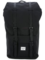 Herschel Supply Co. Double Strap Fastening Backpack Black