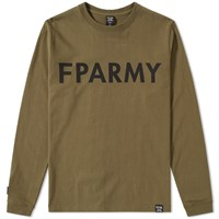 Fpar Long Sleeve Army Tee Green