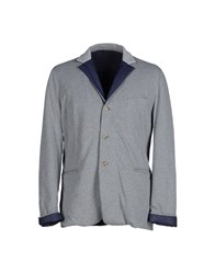 Capobianco Suits And Jackets Blazers Men Light Grey