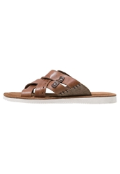 Pier One Sandals Cognac Beige