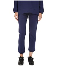 Yohji Yamamoto W Elegant Pants Night Sky Women's Casual Pants Blue