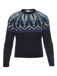 Moncler Wool And Alpaca Blend Sweater