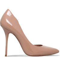 Kurt Geiger Anja Patent Leather Court Shoes Nude