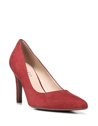 Franco Sarto Amore Slip On Pumps Red