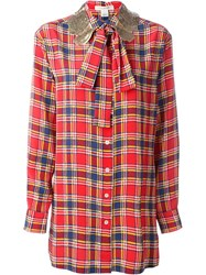 Marc Jacobs Checked Shirt Red