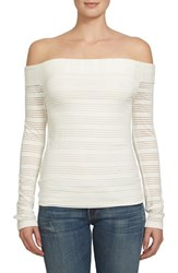 1.State Women's Off The Shoulder Top