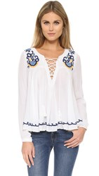 Lovers Friends Athens Top Ivory