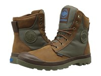 Palladium Pampa Sport Cuff Wpn Bridle Brown Moon Mist Boots