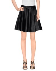 M.Grifoni Denim Skirts Mini Skirts Women Black