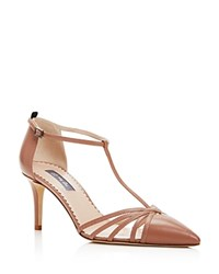 Sjp By Sarah Jessica Parker Carrie T Strap Pointed Toe Pumps Sneak