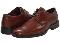 Ecco New Jersey Tie Mink Men's Lace Up Bicycle Toe Shoes Brown