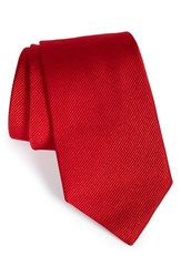 Gitman Brothers Vintage Men's Solid Silk Tie Red