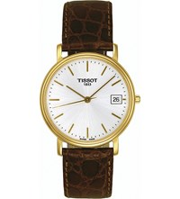 Tissot T52.5.411.31 Desire Yellow Gold Plated Stainless Steel And Leather Watch