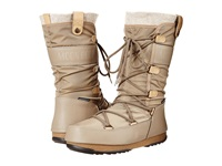 Tecnica Moon Boot Monaco Felt Sand Women's Cold Weather Boots Beige