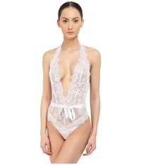 Agent Provocateur Idalia Playsuit White Women's Jumpsuit And Rompers One Piece