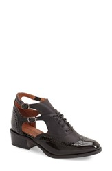 Women's Jeffrey Campbell 'Delaney' Cutout Oxford 1 1 2' Heel