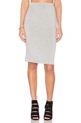 Beautiful People Pencil Skirt Gray