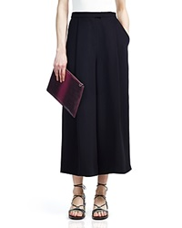 Whistles Renee Wide Leg Crepe Pants