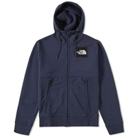 The North Face Logo Zip Hoody Blue