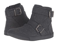 Blowfish Prater Grey Two Tone Flannel Women's Shoes Gray