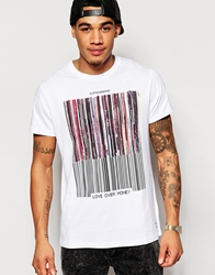 Supreme Being Supremebeing T Shirt With Records Print White