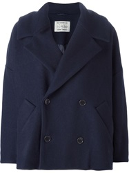 Henrik Vibskov Cropped Coat Blue