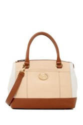 Tignanello All Day Long Leather Satchel Beige