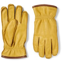 Hestra Ornberg Leather Gloves Saffron