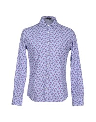 Tonello Shirts Shirts Men Azure