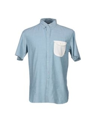 Element Shirts Sky Blue